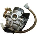 18mm Carburetor of High Quality with Acceleration Pump for GY6 50cc Moped